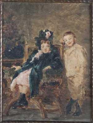 - Louis APPIAN 1862-1896. Portraits d'enfants. Huile sur carton.jpg