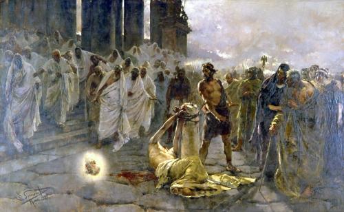 saint paul,abbaye des trois fontaines,décapitation,dabiq