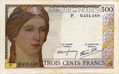 echange des billets 1945,clément serveau,libération,littérature,billets français,anciens francs