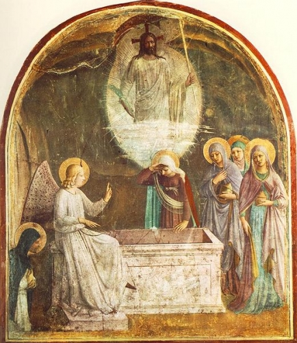 520px-Resurrection_of_Christ_and_Women_at_the_Tomb_by_Fra_Angelico_(San_Marco_cell_8).jpg