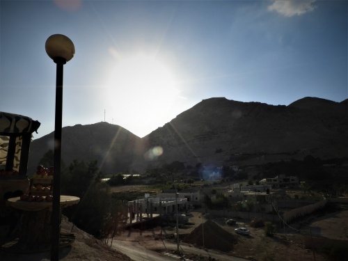 Wadi Kharrar,Jericho,école Santa Maria,Zachée,sycomore,