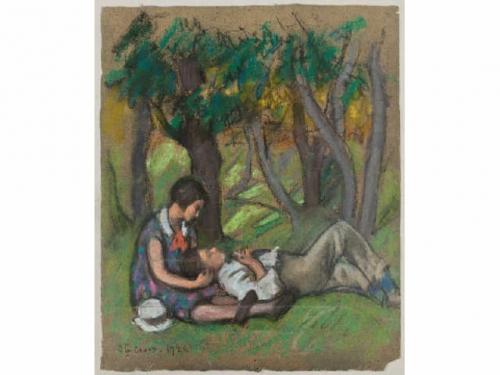 Les amoureux à Sainte-Croix1926-2.jpg