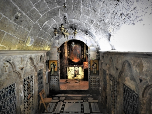 Annonciation,Palestine,église saint gabriel,la vie cachée de Nazareth,Charles de Foucault,
