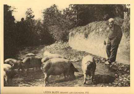 lon bloy,exegese des lieux communs,littrature,socit,cochons sur marne,langage,linguistique,politique