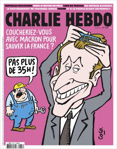 charlie hebo,présidentielle,macron,en marche,france