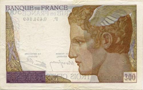 echange desbillets 1945,clément serveau,libération,littérature,billets français,anciens francs