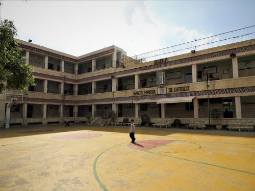 Jericho,école Santa Maria,Zachée,sycomore,